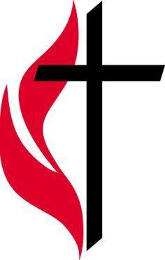 United Methodist Cross and Flame